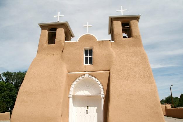 Missionskirche san francisco de asis in new mexiko