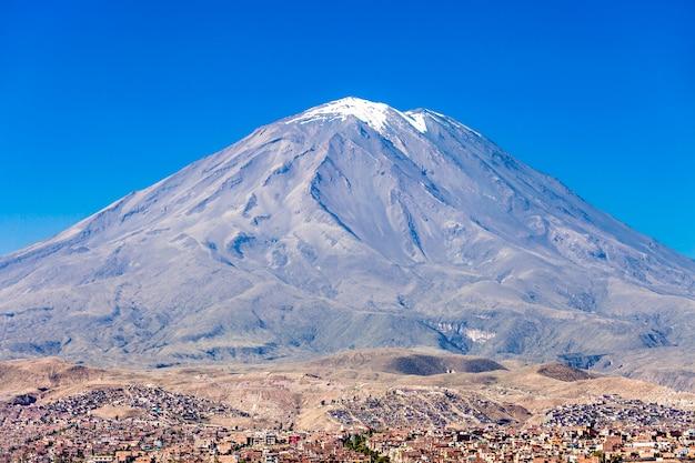 Misti vulkan
