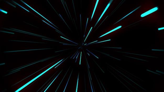 Mit lichtgeschwindigkeit durch die sterne fliegen