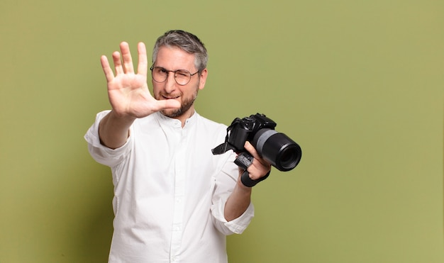 Mittelalter fotograf mann