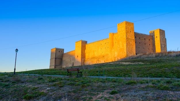 Mittelalterliche burg von siguenza