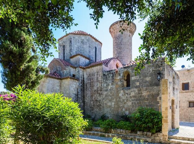 Mittelalterliche kirche in rhodos-stadt