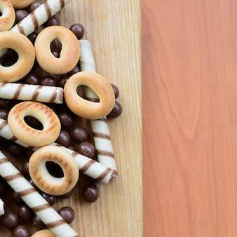 Mix aus verschiedenen süßigkeiten