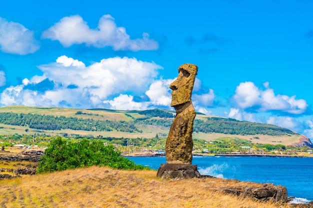 Moai, hana kio und hana kao kao