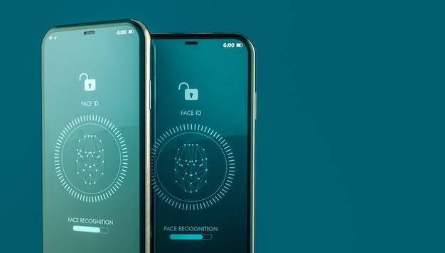 Mobiles entsperren durch gesichtserkennung