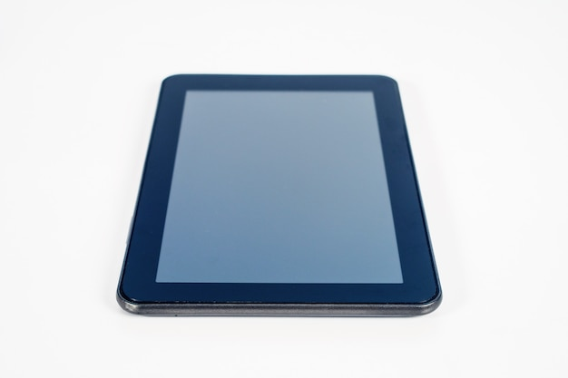 Mobiles tablet für online-shopping und e-commerce.
