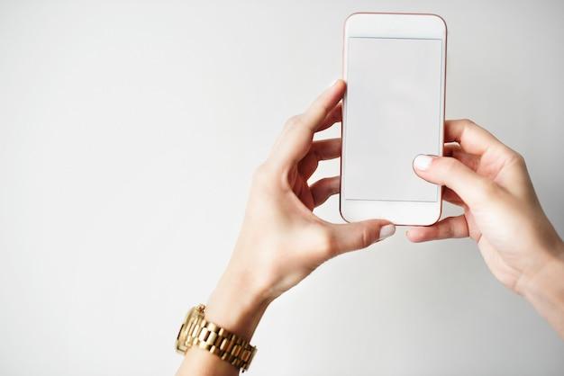 Mockup-textfreiraum-leerer bildschirm-konzept