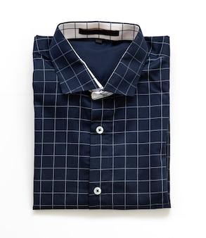 Mode mann blaues hemd