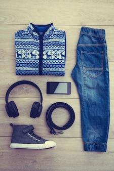 Mode-set für junge junge