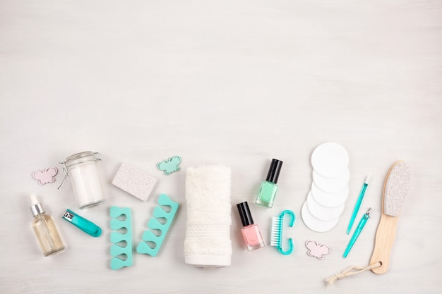 Modell der kosmetischen kosmetikprodukte