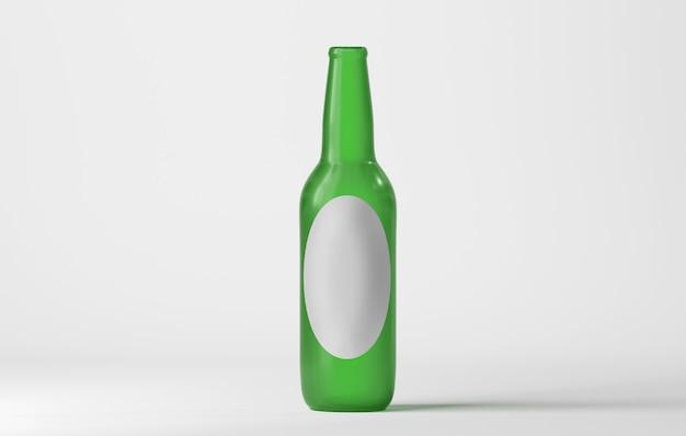 Modell einer glasflasche