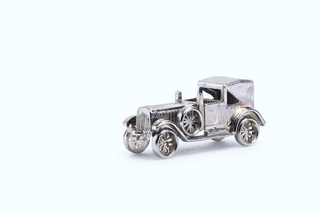 Modelle von retro-autos in miniatur