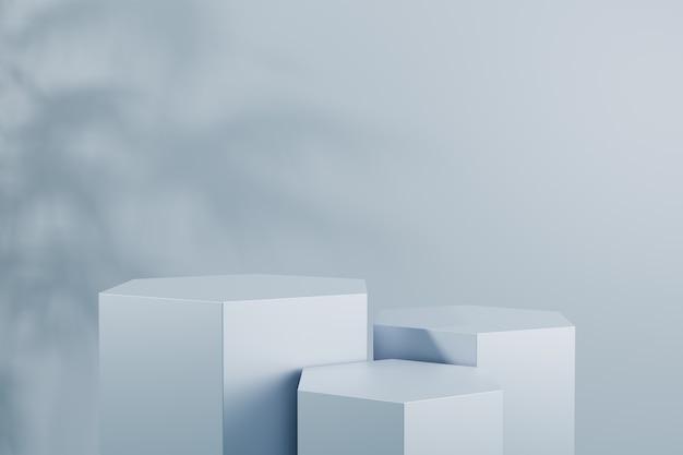 Modellpodest für produktpräsentation 3d rendern