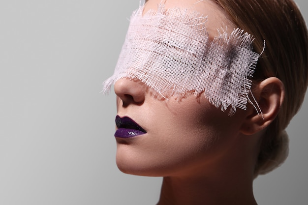 Modeporträt einer frau