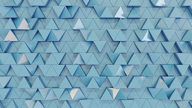 Moderne abstrakte dreieckfliesenwand