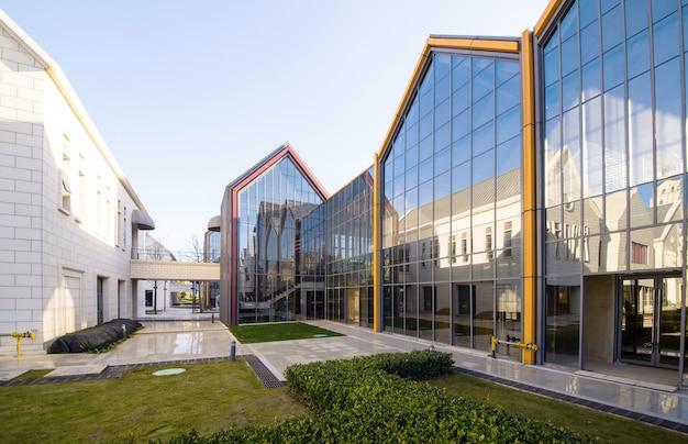 Moderne architektur im kulturinnovationspark