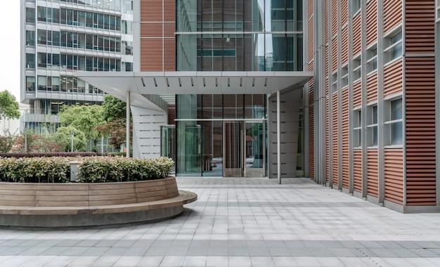 Moderne architektur in lujiazui, shanghai