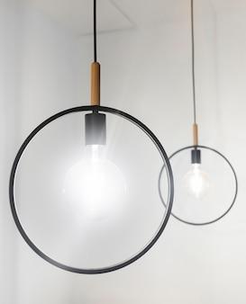 Moderne dekorative lampen
