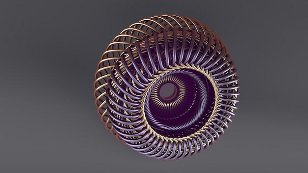 Moderne digitale technologien. hintergrund für ihr design. 3d-illustration