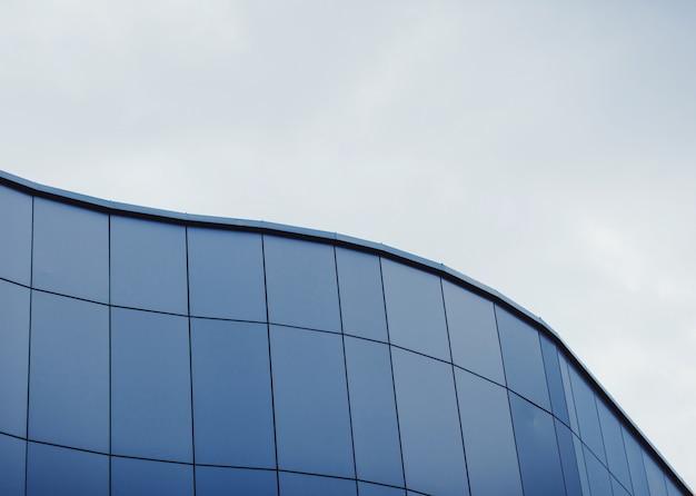 Moderne geschwungene architektur