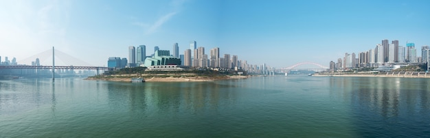 Moderne metropole skyline, chongqing, china