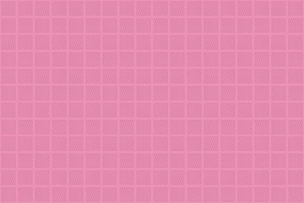 Moderne nahtlose wiederholende kleine rosa quadratische designfliesenmuster-beschaffenheitswand