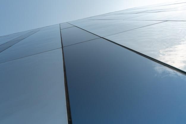 Moderne spiegelwanddekoration des geschäftszentrums