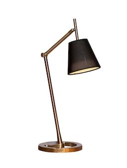Moderne tischlampe lokalisiert auf weiß.