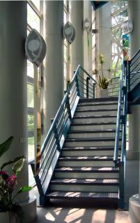 Moderne treppe, zeitgenössische