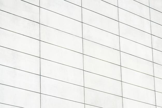 Moderne wand mit rechteckigen ziegeln