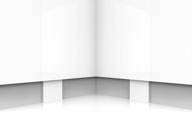 Moderne weiße tafel bühnenhintergrund.