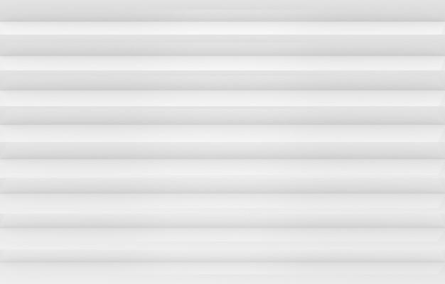 Moderne weiße und graue parallele panel bars muster wand hintergrund.