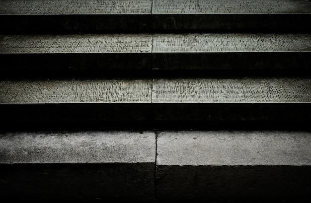 Moderne zementtreppe