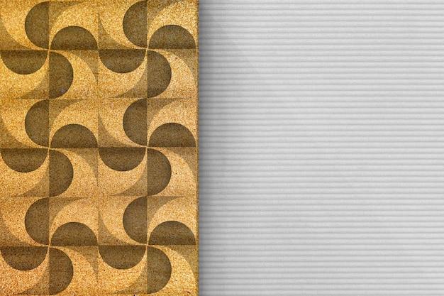 Moderner geometrischer hintergrund 3d