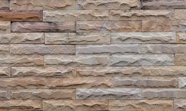 Moderner hintergrund der braunen backsteinmauerbeschaffenheit. industrielles detail für anzeigeprodukt.