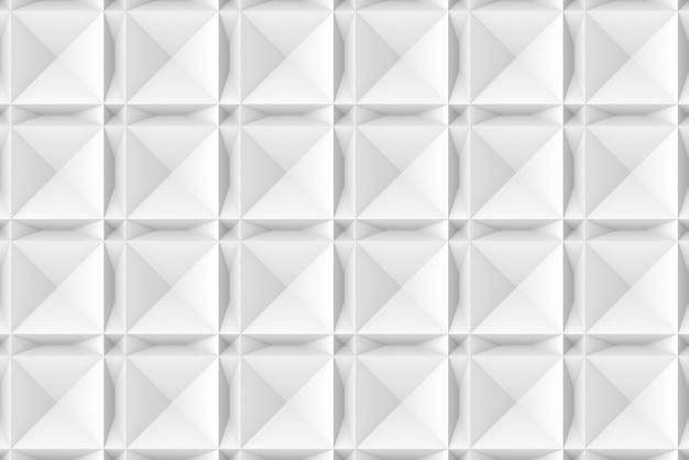 Moderner nahtloser geometrischer quadrat- und dreieckmuster-wandhintergrund.