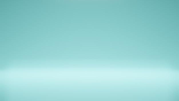 Moderner studiohintergrund moderner und einfacher blauer himmelshintergrund moderner leerer raumstudioraum