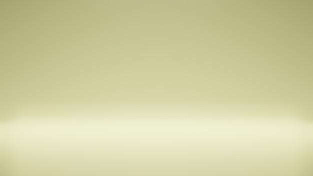Moderner studiohintergrund moderner und einfacher gelber hintergrund moderner leerer raumstudioraum