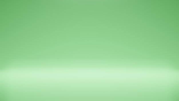 Moderner studiohintergrund moderner und einfacher grüner hintergrund moderner leerer raumstudioraum