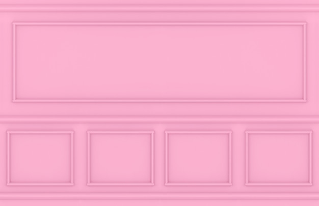 Moderner süßer rosa quadratischer klassischer wandgestaltungshintergrund.