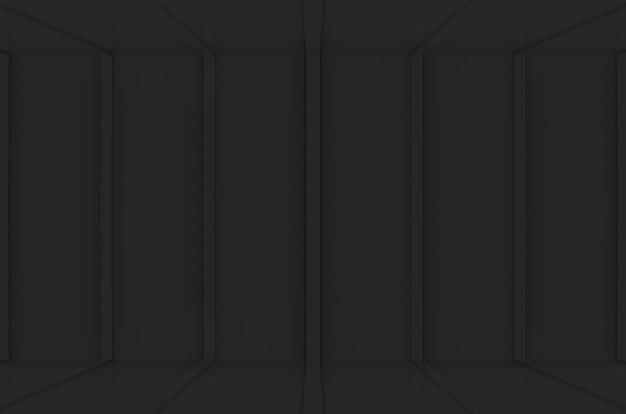 Moderner vertikaler schwarzer plattenmusterwand-bodenhintergrund.