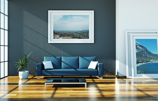 Modernes apartment interieur