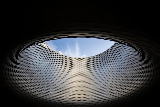 Modernes architekturdetail
