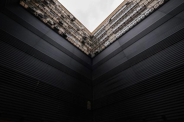 Modernes architekturgebäude