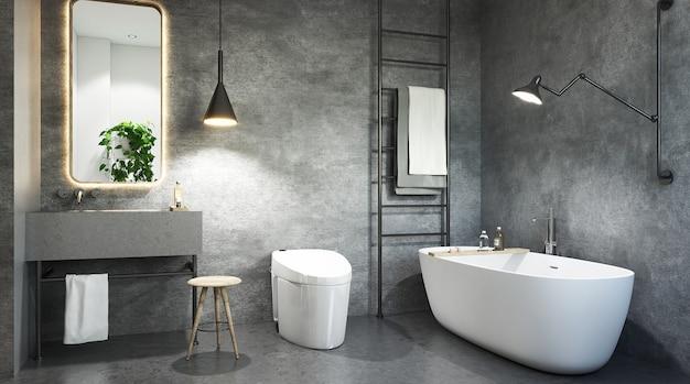 Modernes badezimmer-innendesign
