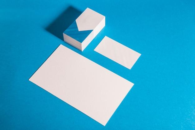 Modernes briefpapier mockup