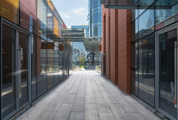 Modernes bürogebäude im software-park, chongqing, china