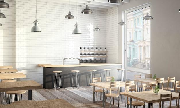 Modernes café