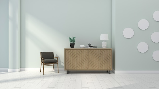 Modernes frisches und einfaches innenseitenschrankdekorationshaus