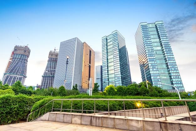 Modernes gebäude in hangzhou